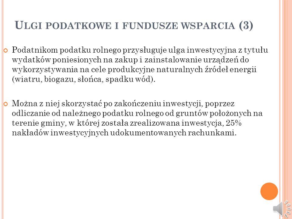 Ulgi podatkowe i fundusze wsparcia (3)