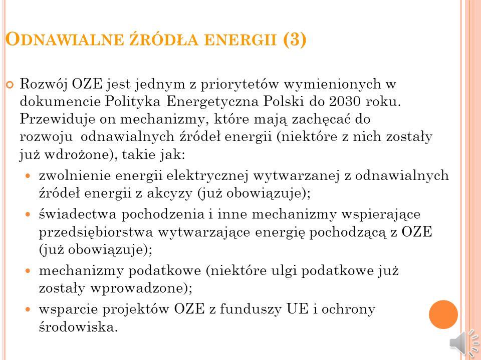 Odnawialne źródła energii (3)