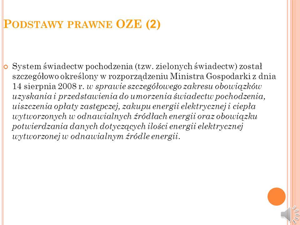 Podstawy prawne OZE (2)