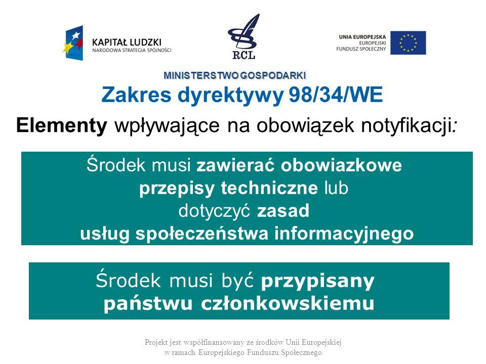 usług społeczeństwa informacyjnego państwu członkowskiemu