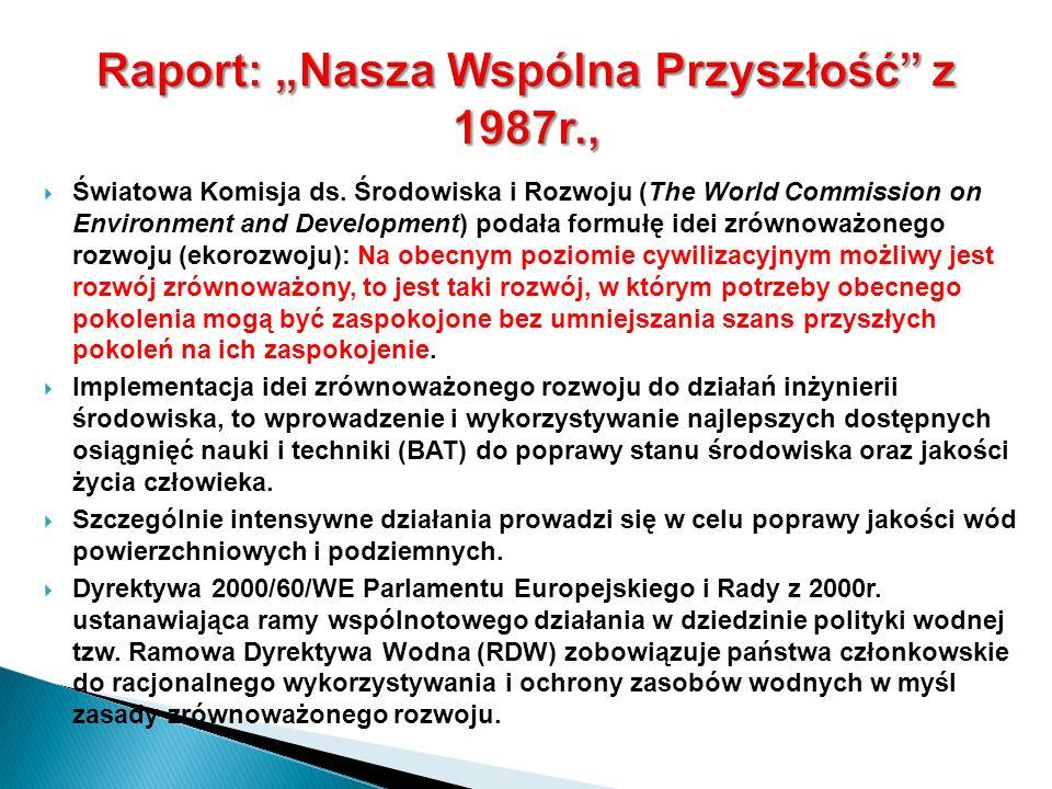 """Raport: """"Nasza Wspólna Przyszłość z 1987r.,"""
