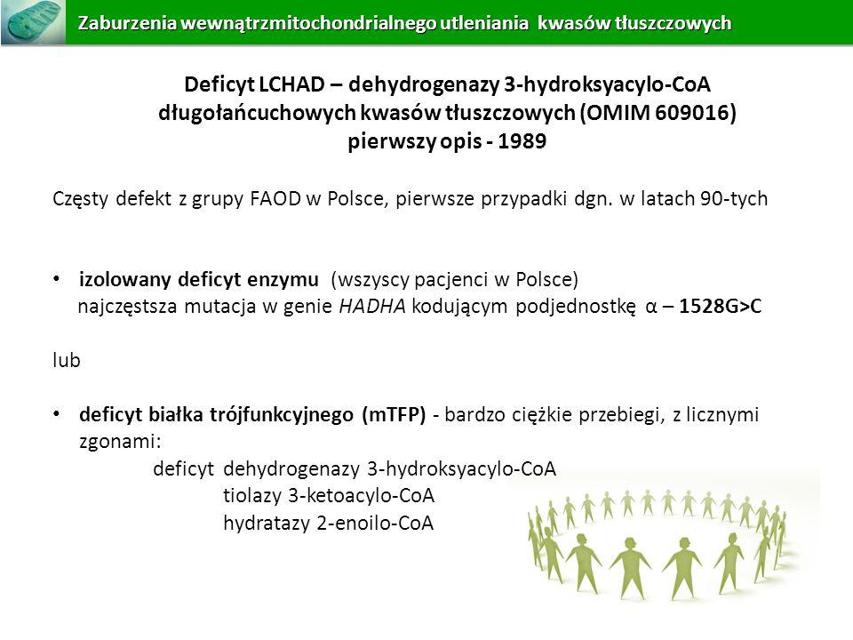 Deficyt LCHAD – dehydrogenazy 3-hydroksyacylo-CoA