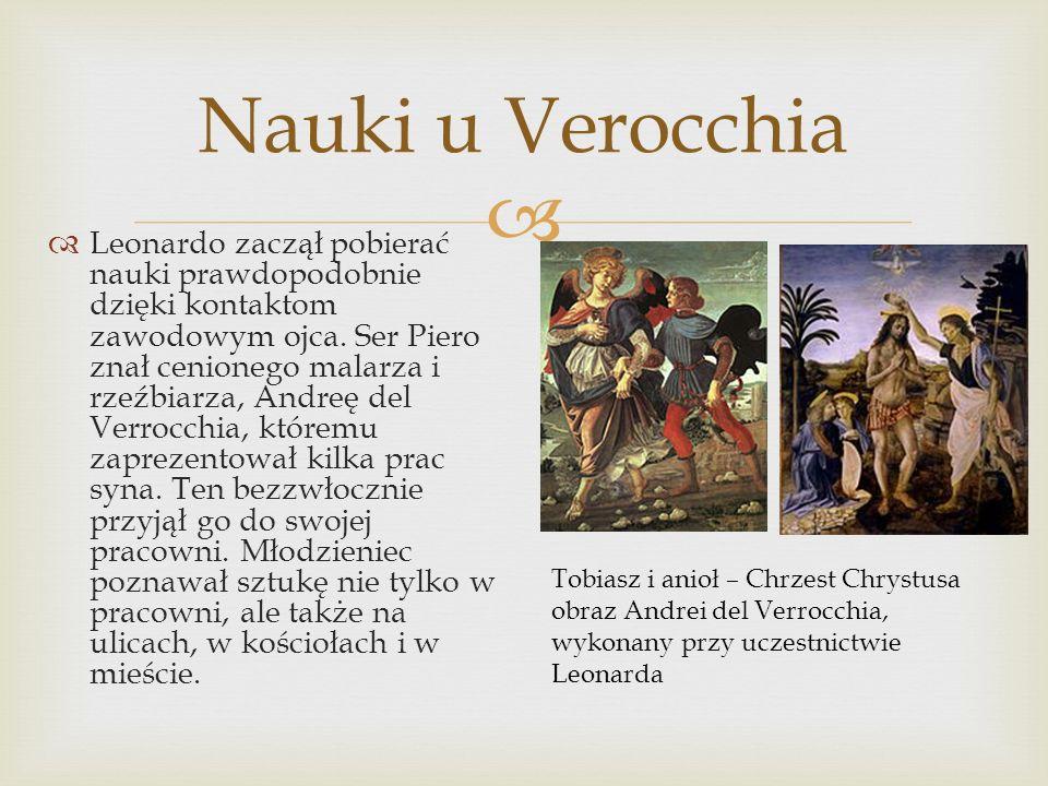 Nauki u Verocchia