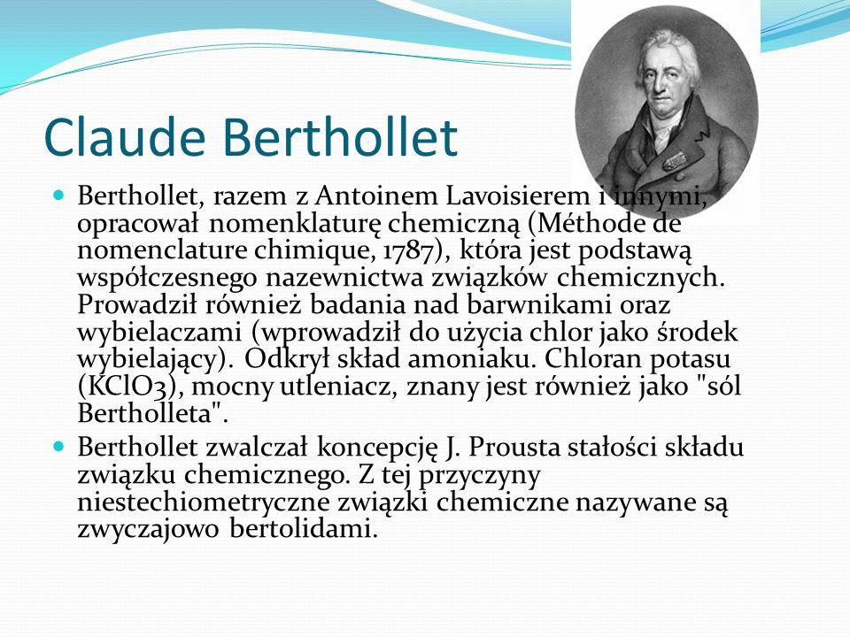 Claude Berthollet