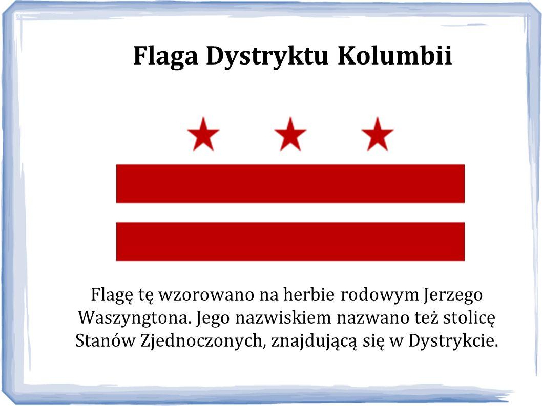 Flaga Dystryktu Kolumbii