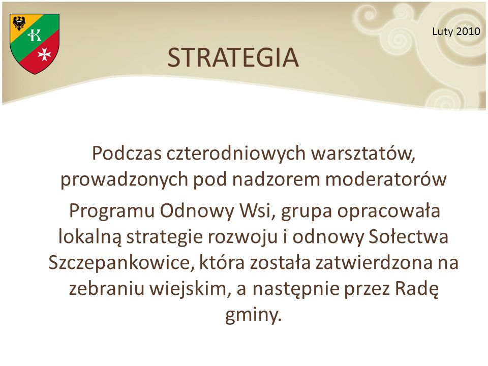 STRATEGIA Luty 2010.