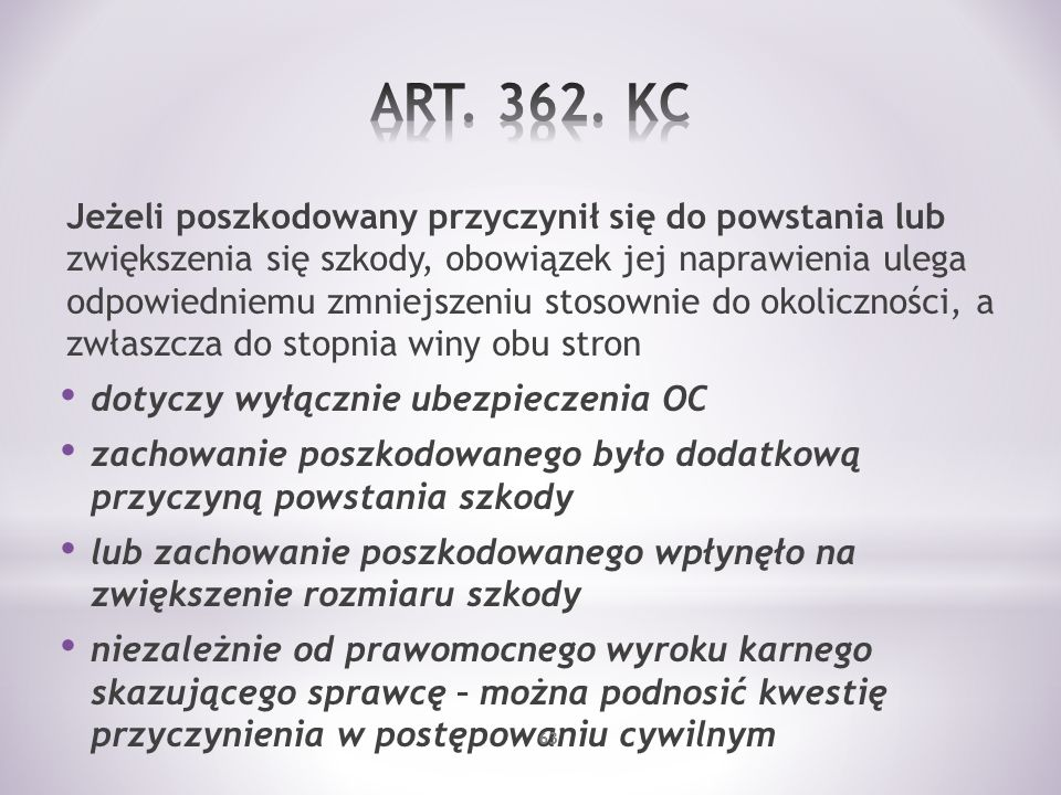 ART. 362. KC