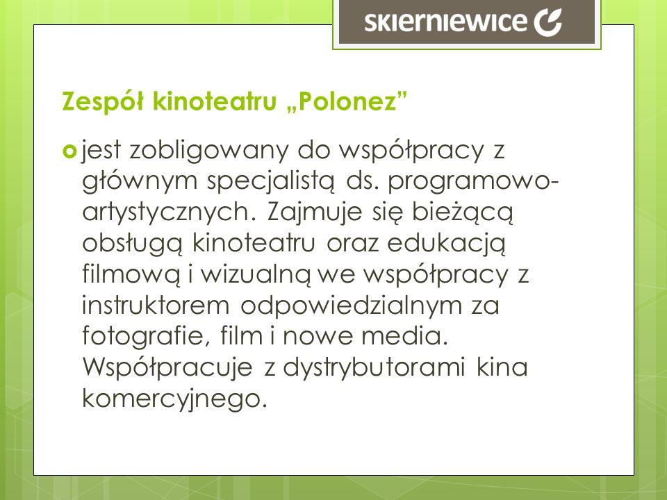 """Zespół kinoteatru """"Polonez"""