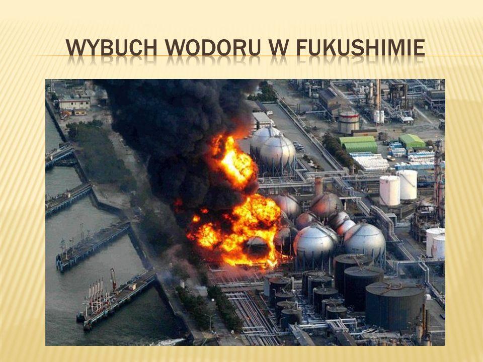 Wybuch wodoru w fukushimie