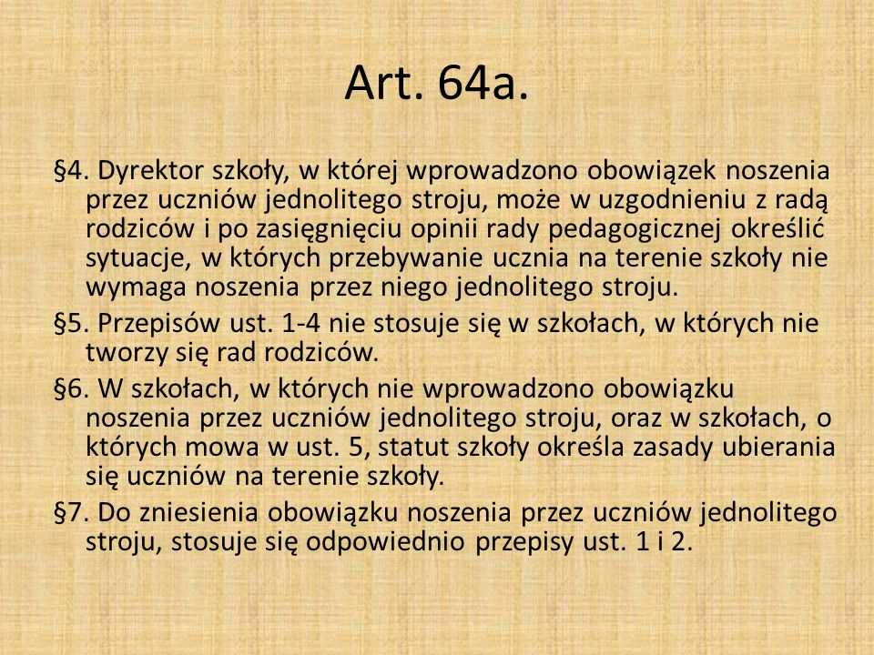 Art. 64a.