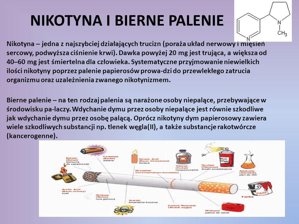 Nikotyna i bierne palenie