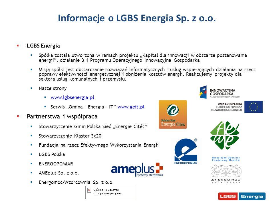 Informacje o LGBS Energia Sp. z o.o.