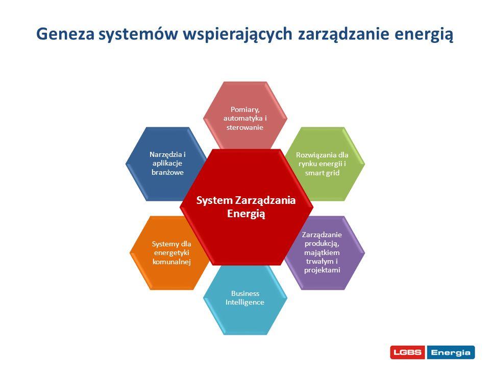 Geneza systemów wspierających zarządzanie energią