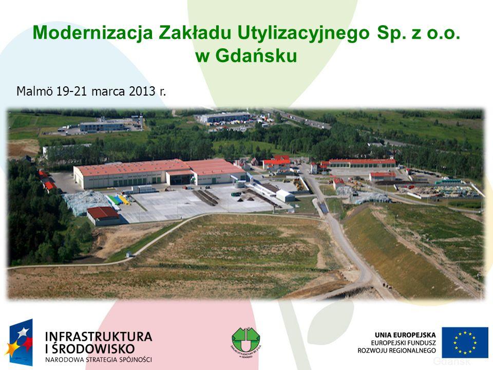 Modernizacja Zakładu Utylizacyjnego Sp. z o.o.