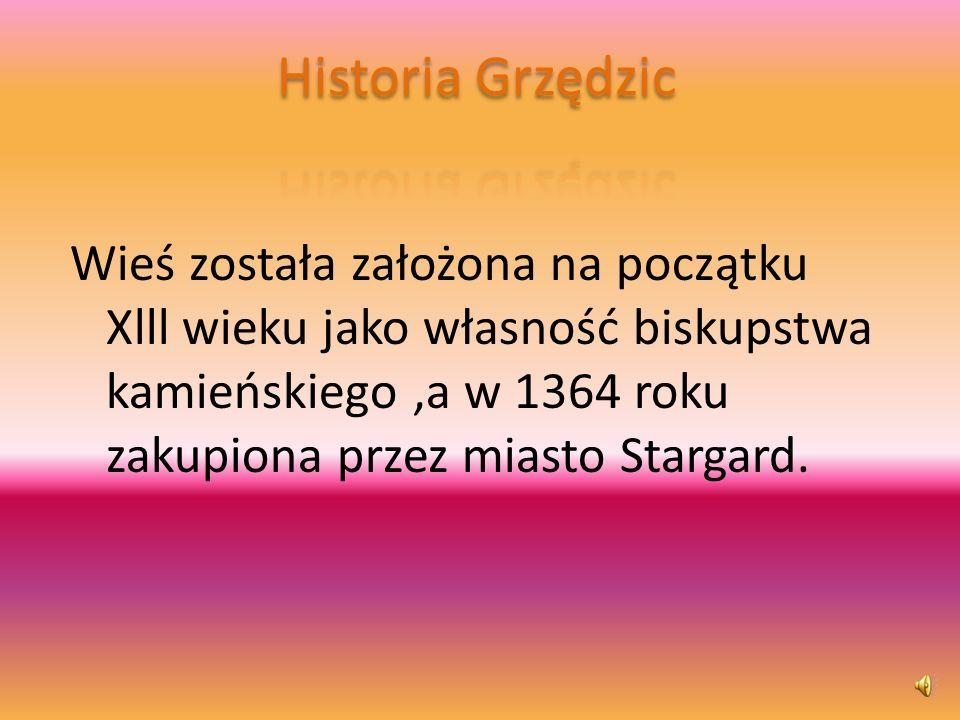 Tutaj wpisz tekst Historia Grzędzic