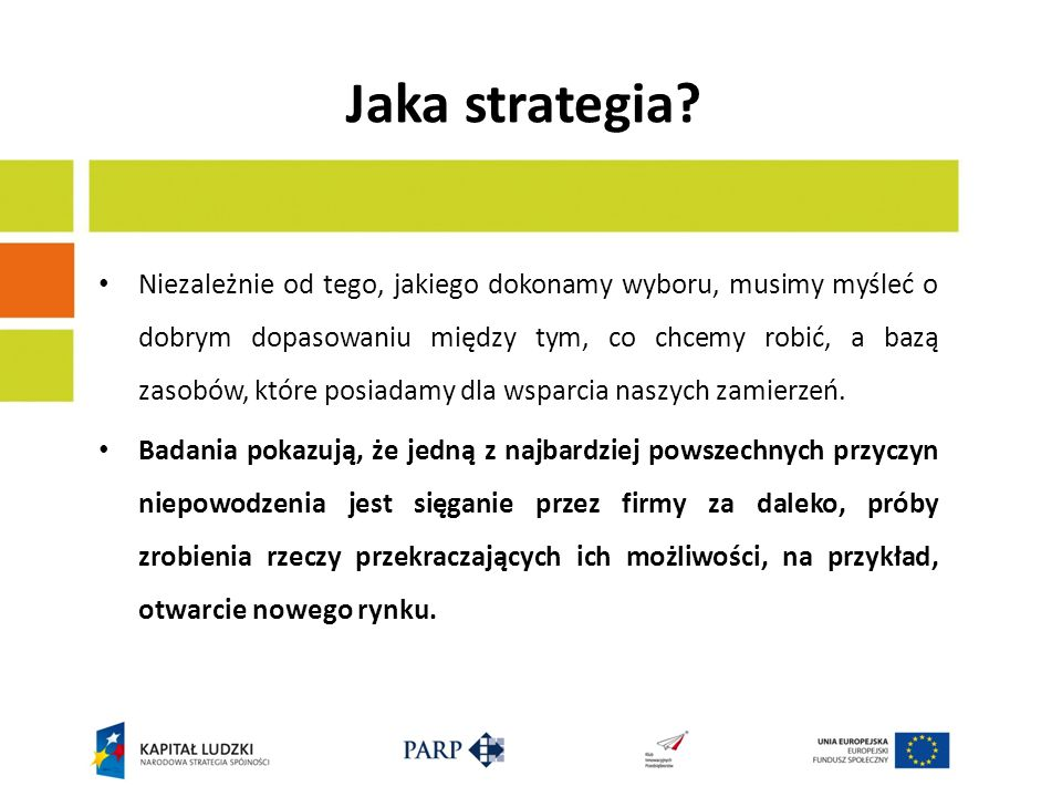 Jaka strategia