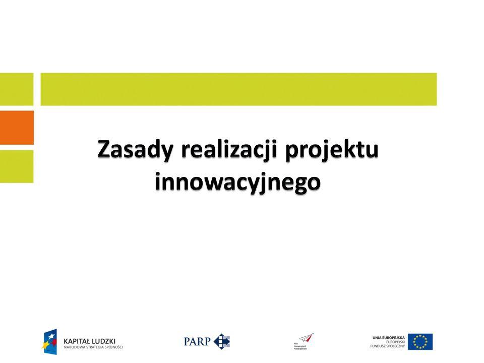Zasady realizacji projektu innowacyjnego