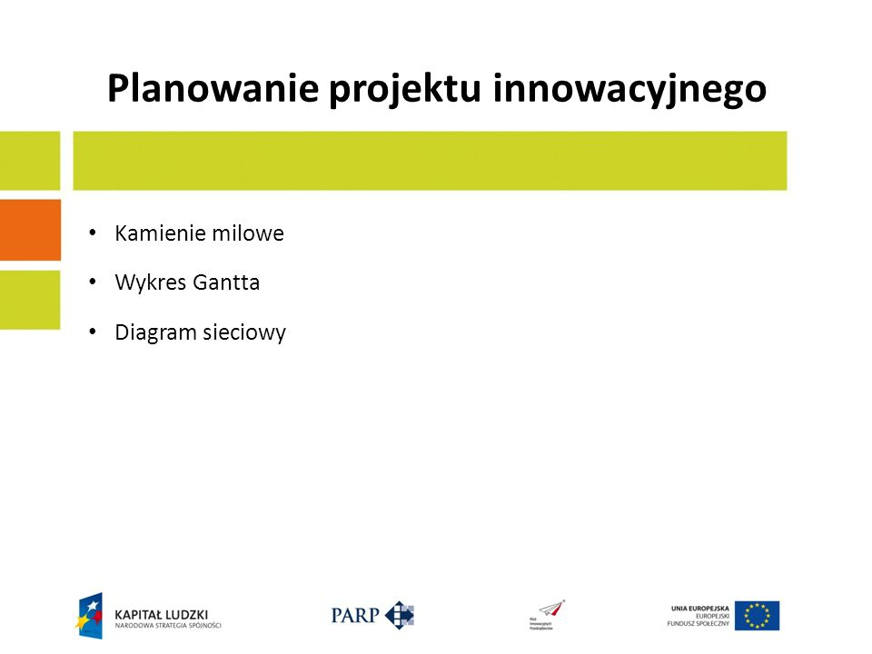 Planowanie projektu innowacyjnego