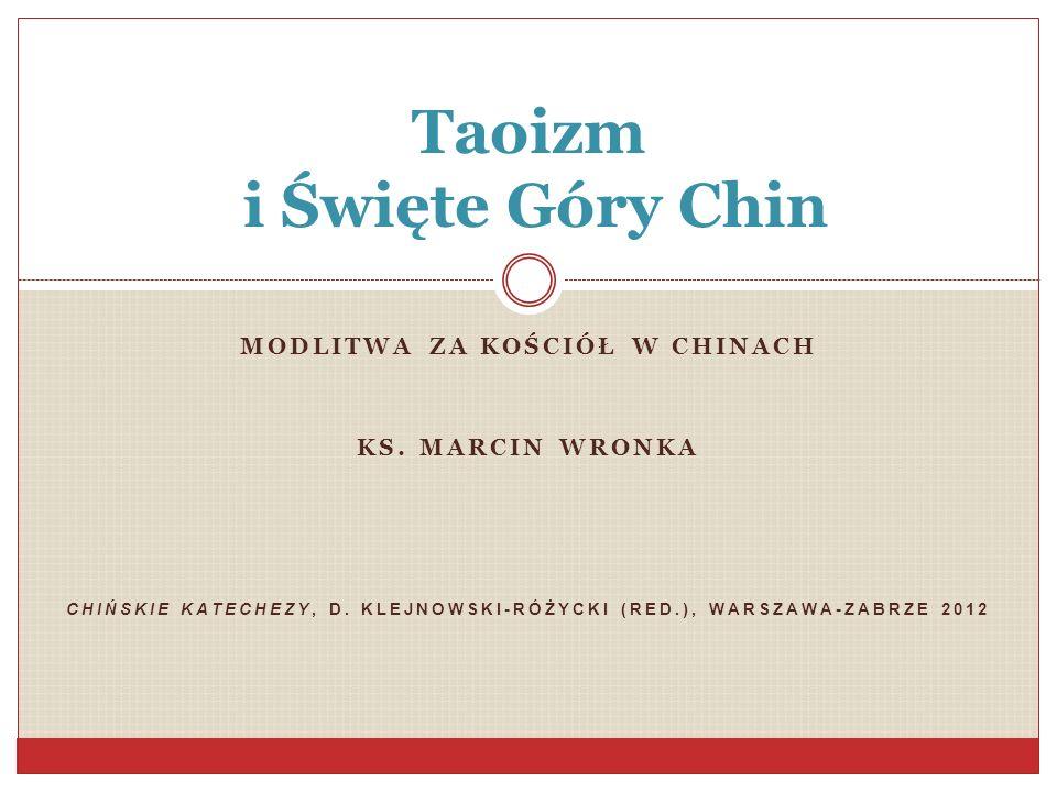Taoizm i Święte Góry Chin