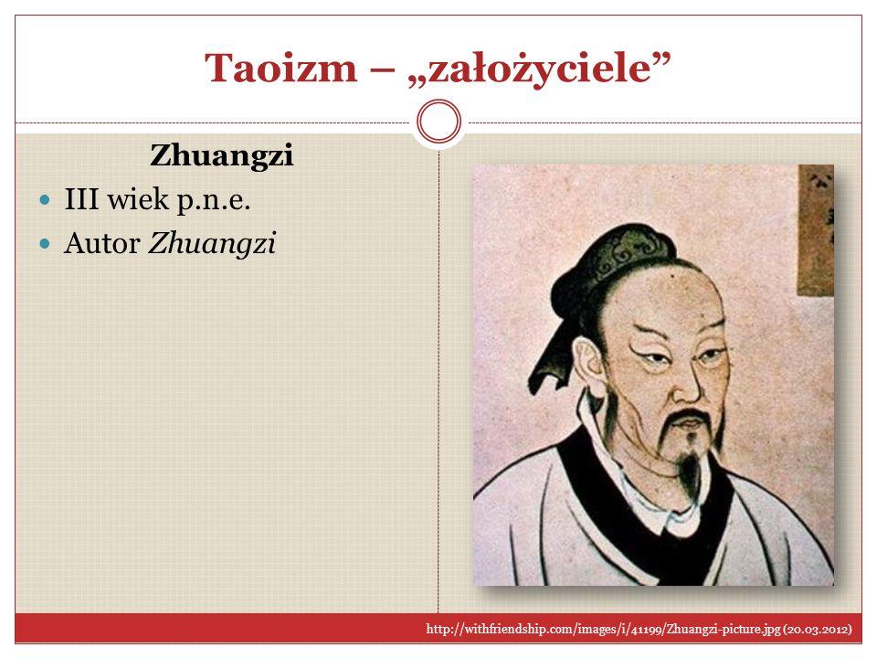 """Taoizm – """"założyciele"""