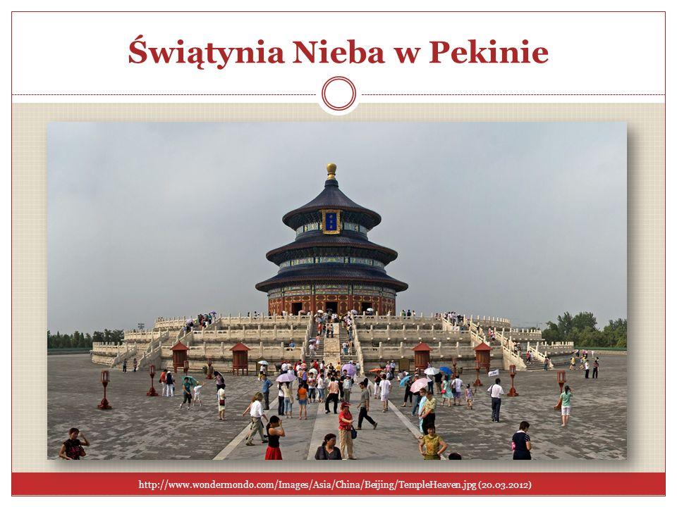 Świątynia Nieba w Pekinie