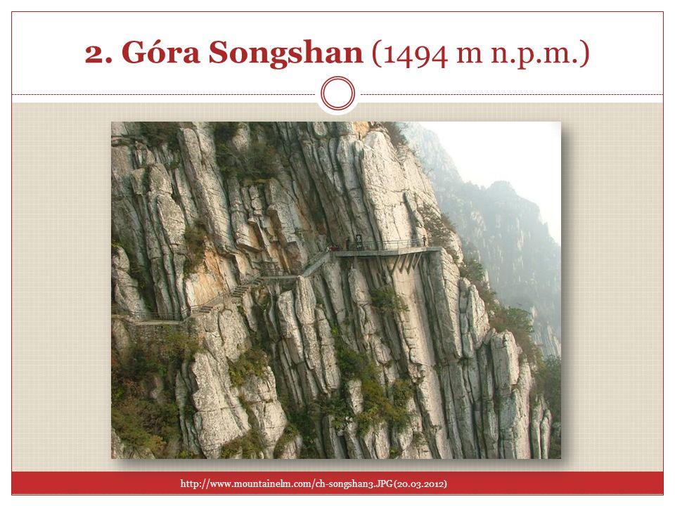 2. Góra Songshan (1494 m n.p.m.)