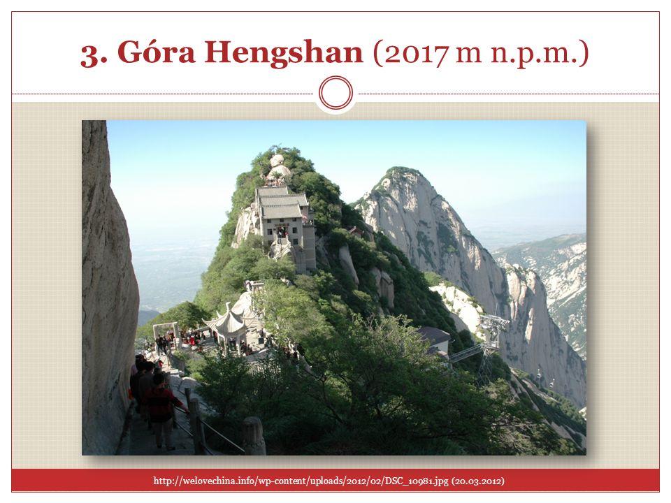 3. Góra Hengshan (2017 m n.p.m.)