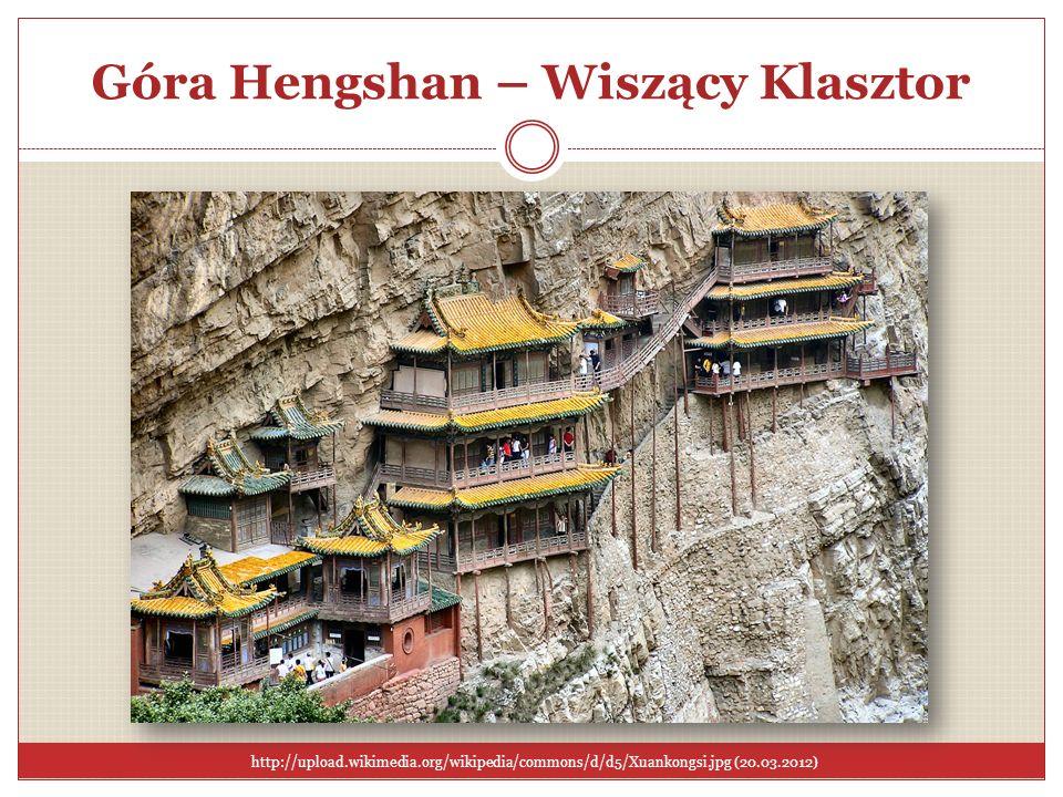 Góra Hengshan – Wiszący Klasztor
