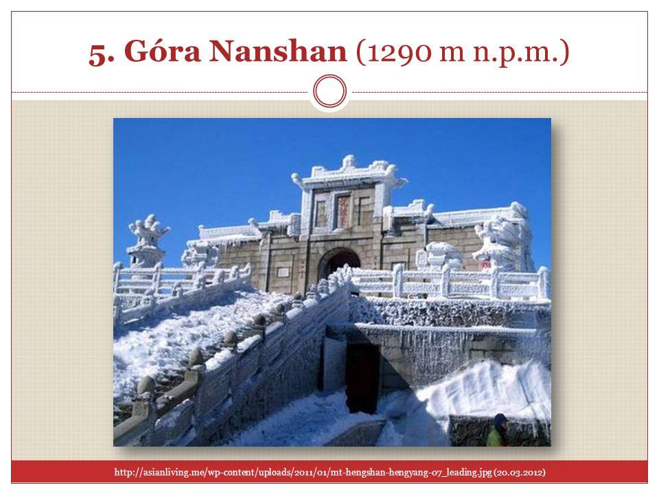 5. Góra Nanshan (1290 m n.p.m.)