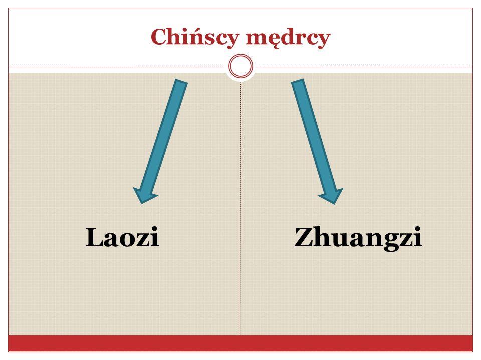 Laozi Zhuangzi Chińscy mędrcy