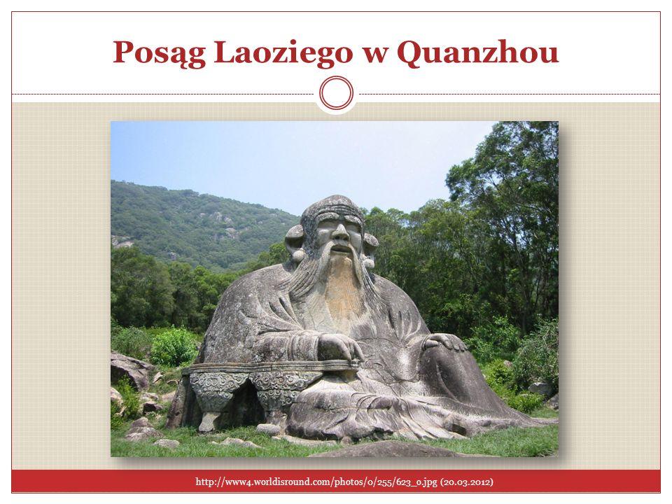 Posąg Laoziego w Quanzhou