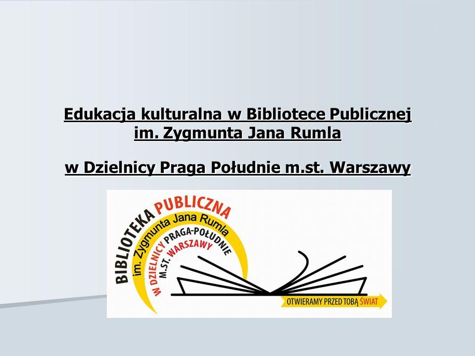 Edukacja kulturalna w Bibliotece Publicznej im