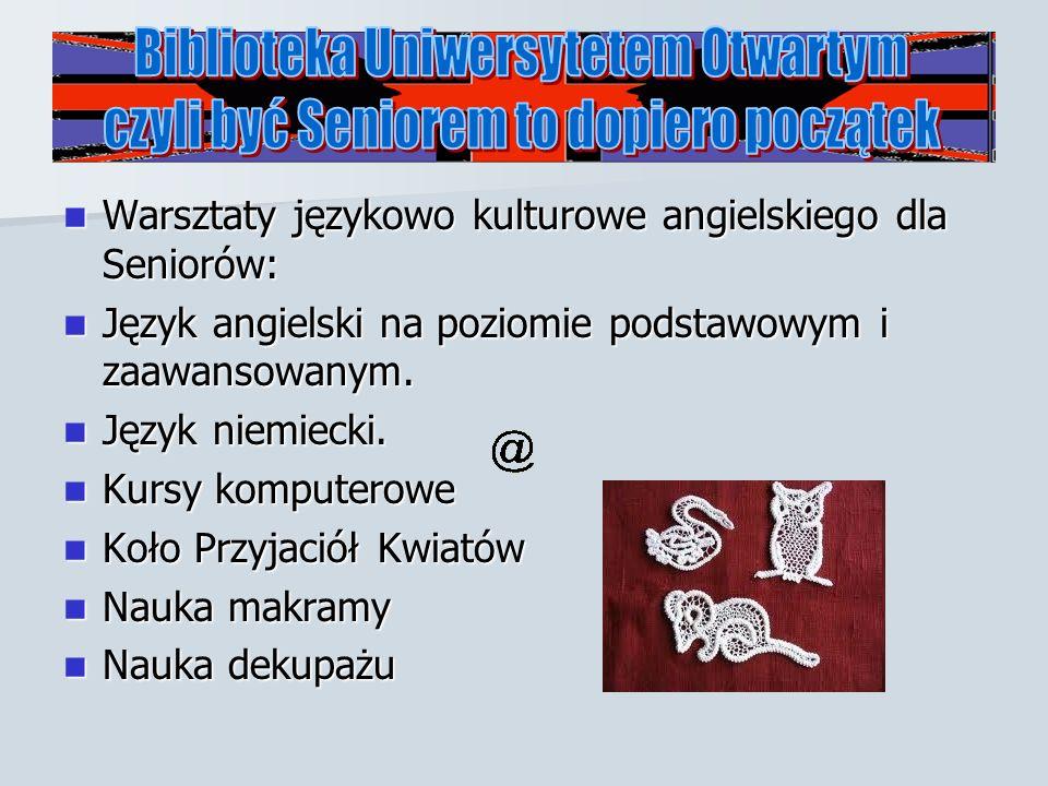 Biblioteka Uniwersytetem Otwartym