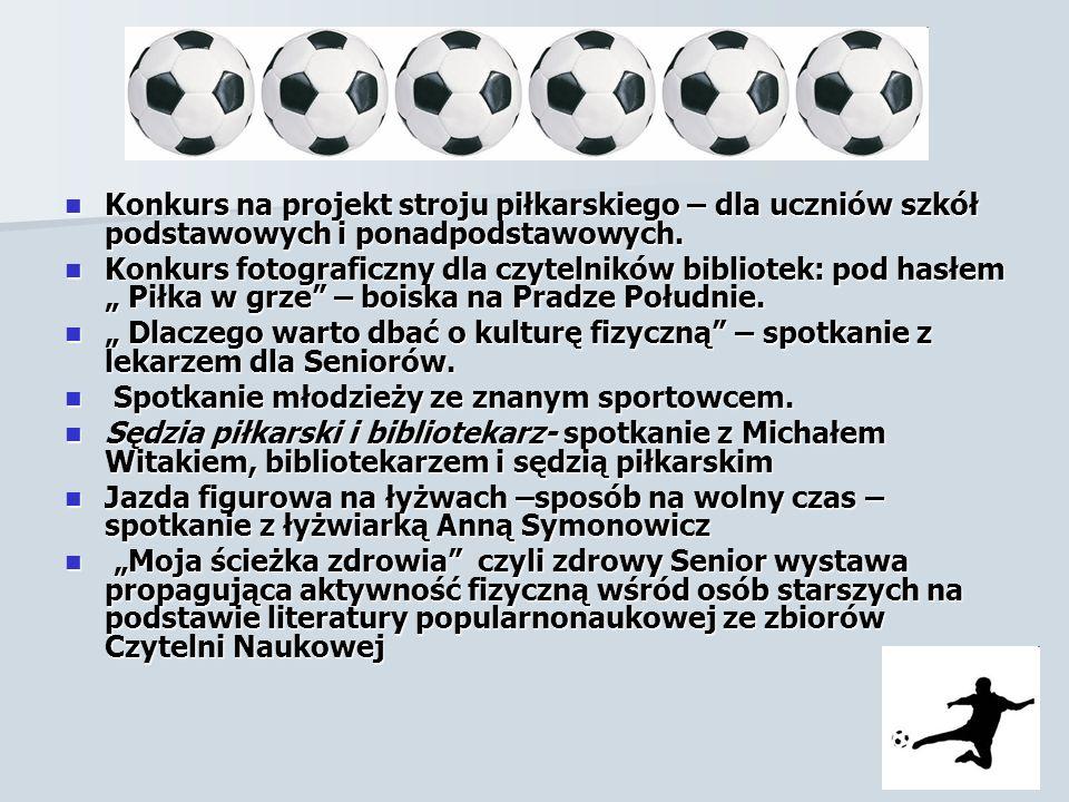c. d Konkurs na projekt stroju piłkarskiego – dla uczniów szkół podstawowych i ponadpodstawowych.