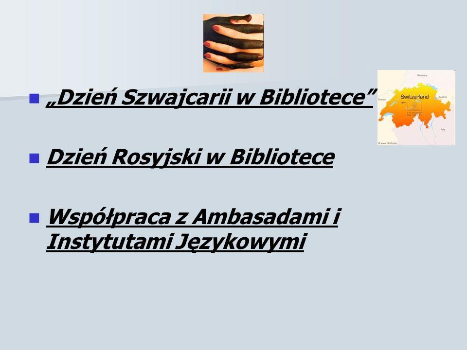 """""""Dzień Szwajcarii w Bibliotece"""