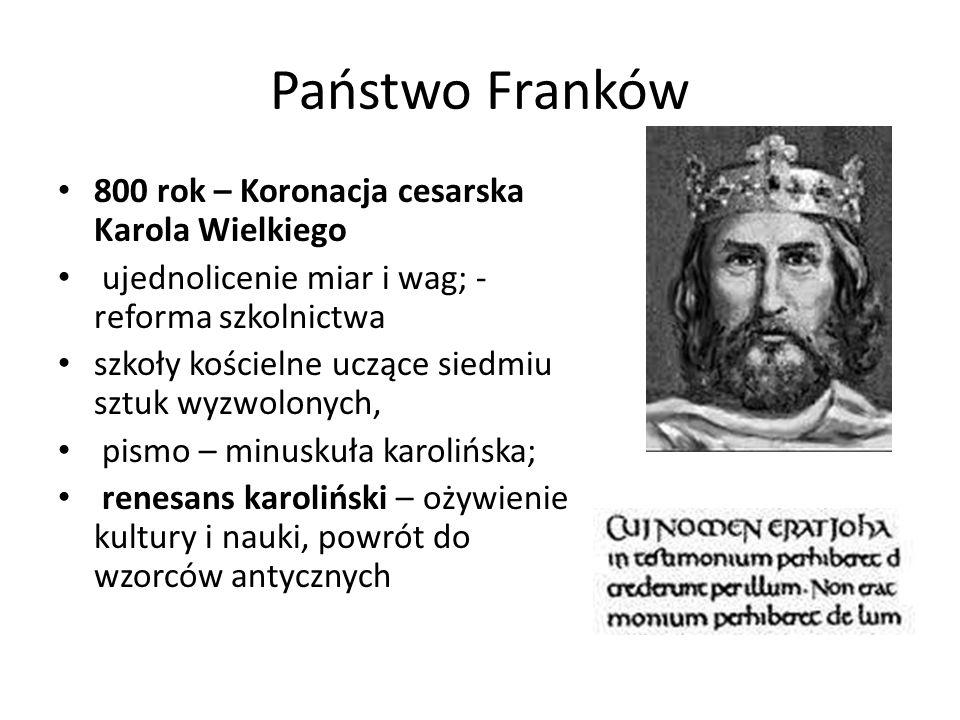 Państwo Franków 800 rok – Koronacja cesarska Karola Wielkiego