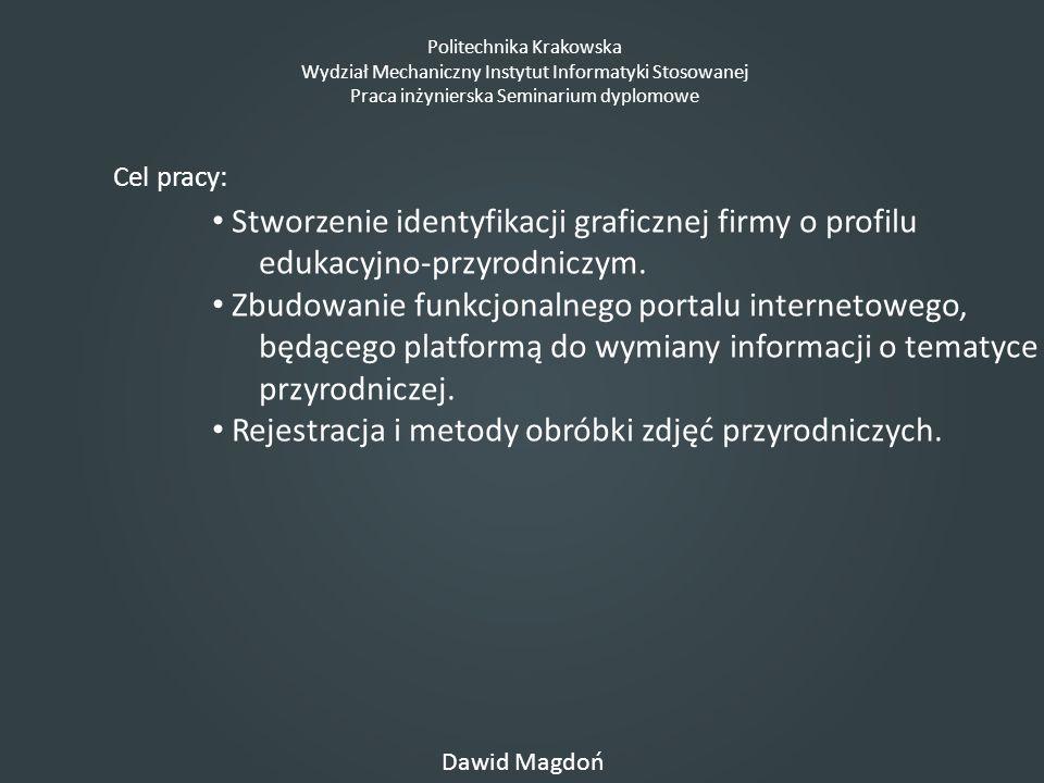 Stworzenie identyfikacji graficznej firmy o profilu