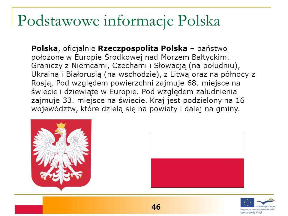 Podstawowe informacje Polska