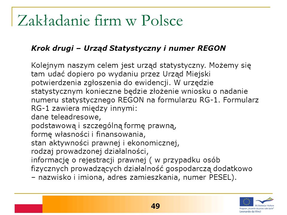 Zakładanie firm w Polsce