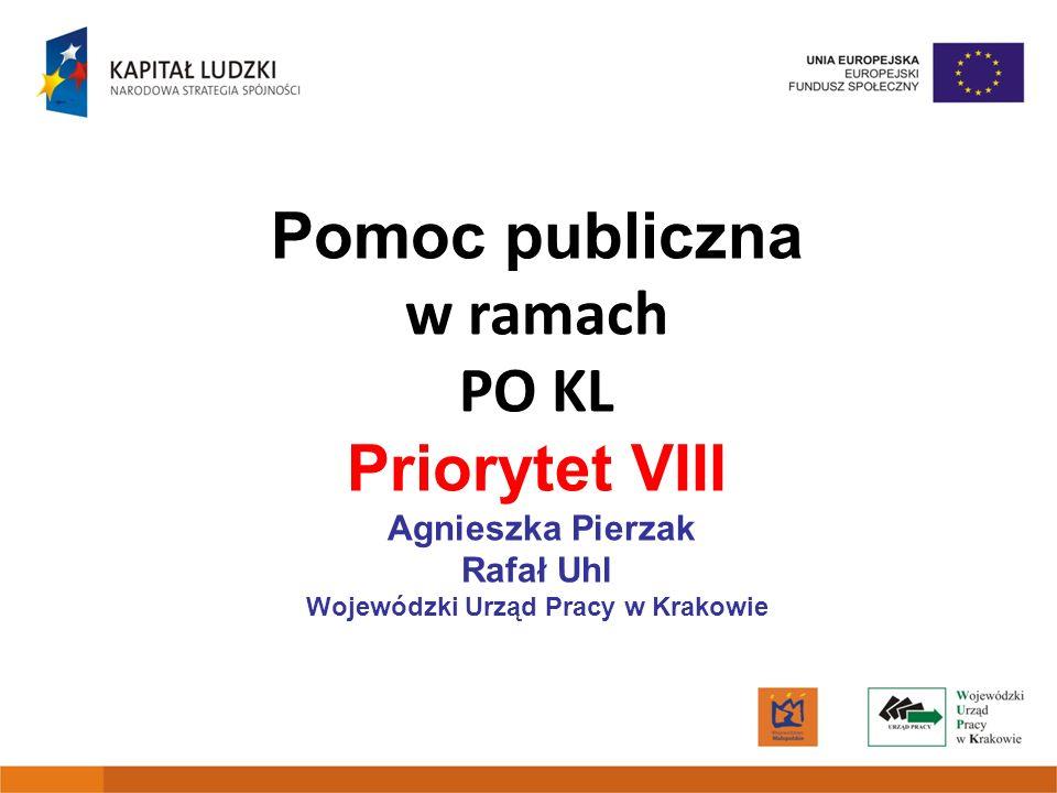 Priorytet VIII Agnieszka Pierzak Rafał Uhl