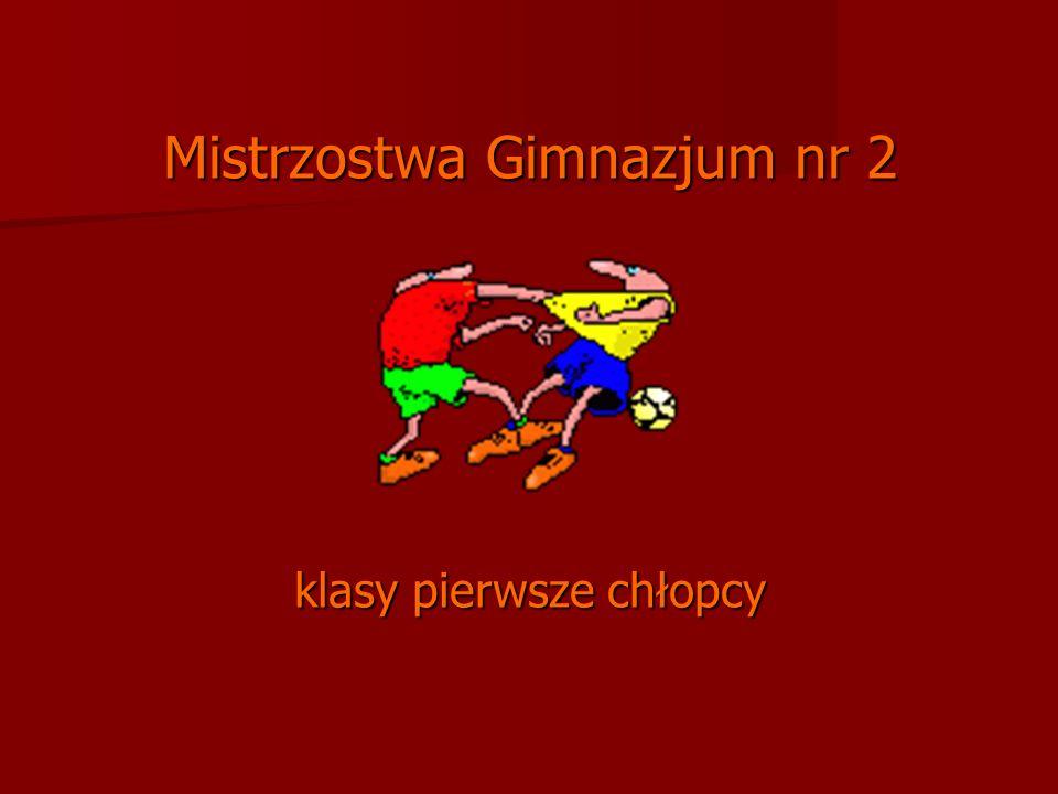 Mistrzostwa Gimnazjum nr 2