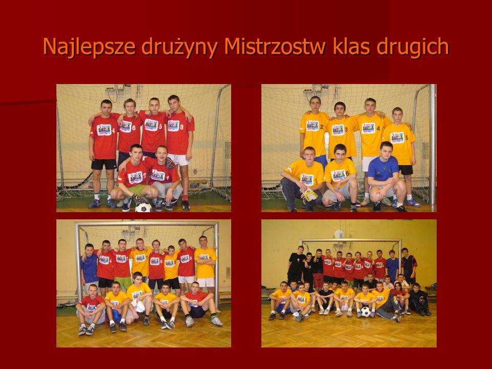 Najlepsze drużyny Mistrzostw klas drugich