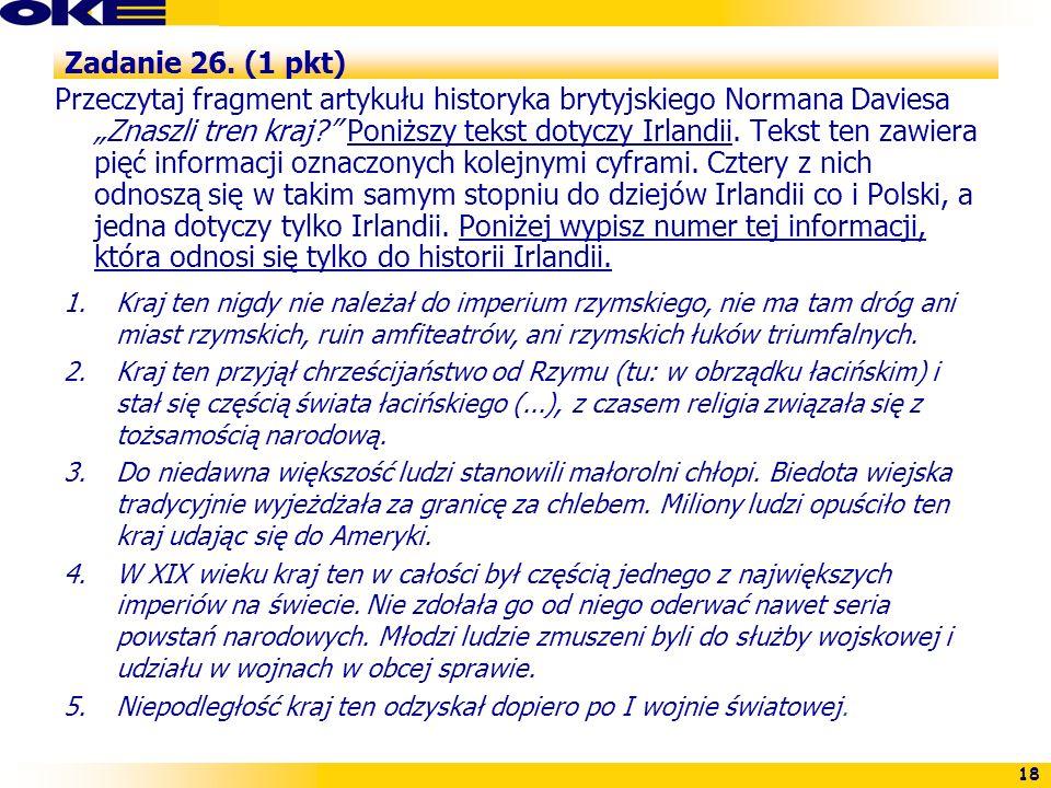 Zadanie 26. (1 pkt)