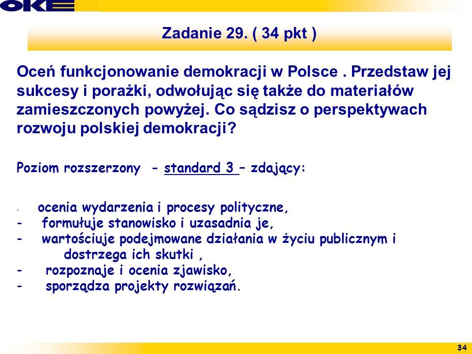 Zadanie 29. ( 34 pkt )
