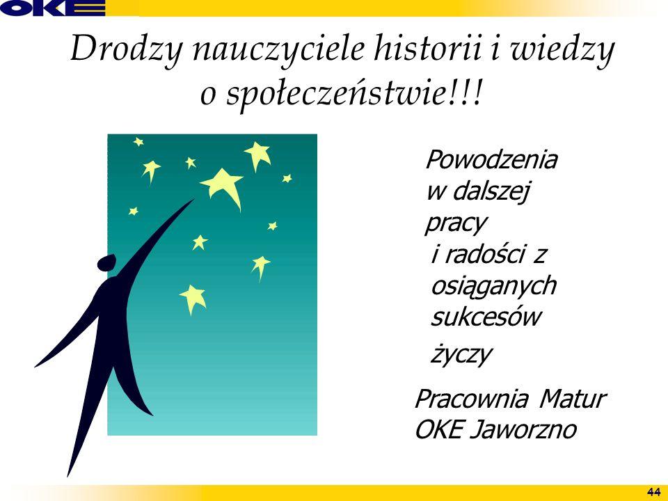 Drodzy nauczyciele historii i wiedzy o społeczeństwie!!!