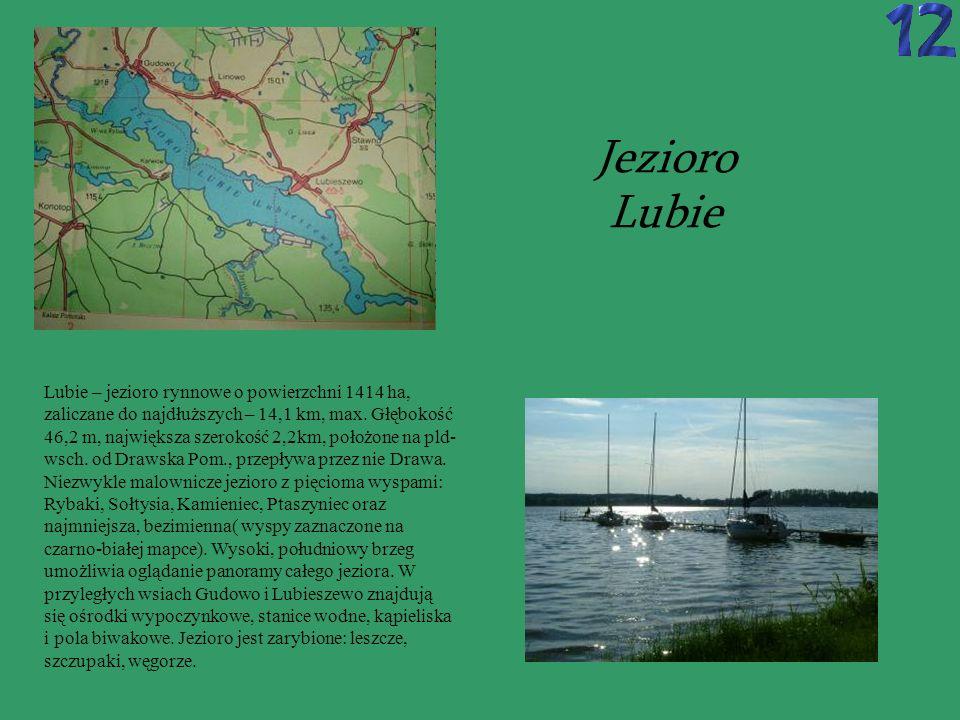 Jezioro Lubie.