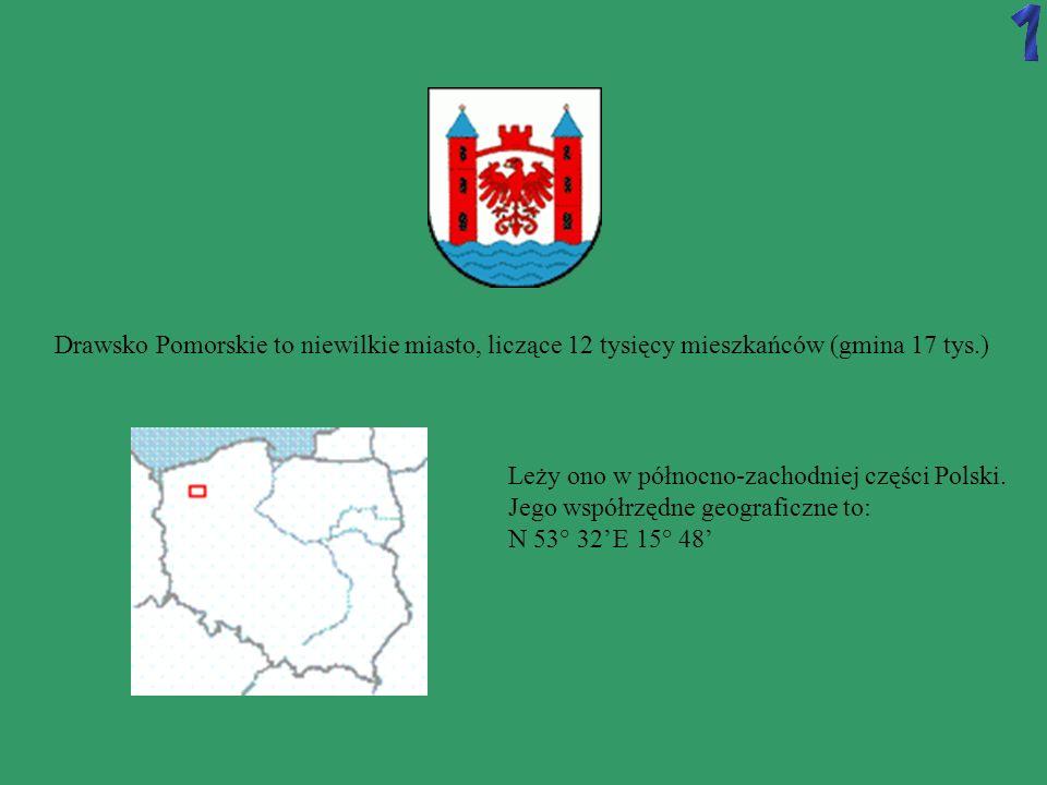 Drawsko Pomorskie to niewilkie miasto, liczące 12 tysięcy mieszkańców (gmina 17 tys.)