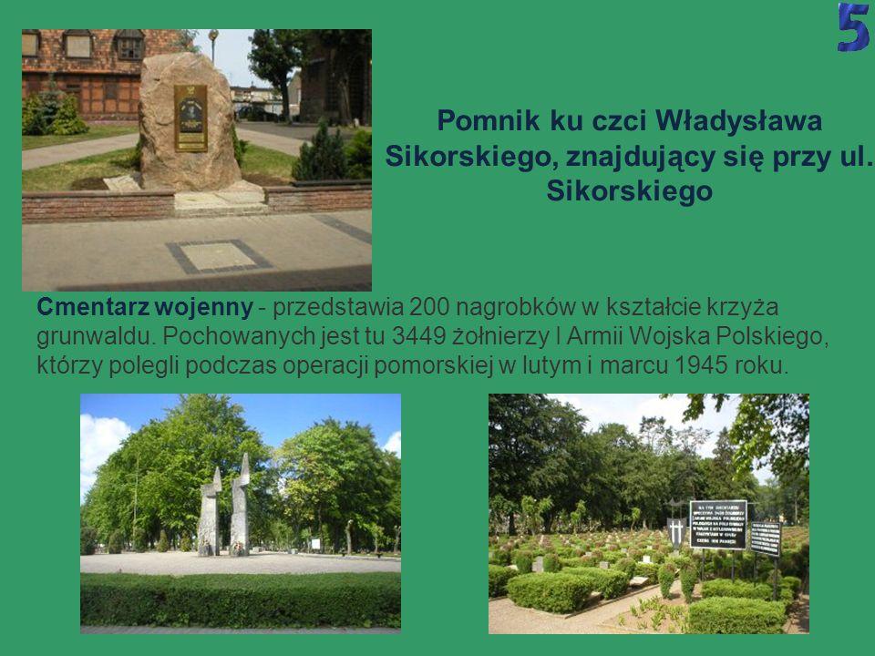 Pomnik ku czci Władysława Sikorskiego, znajdujący się przy ul