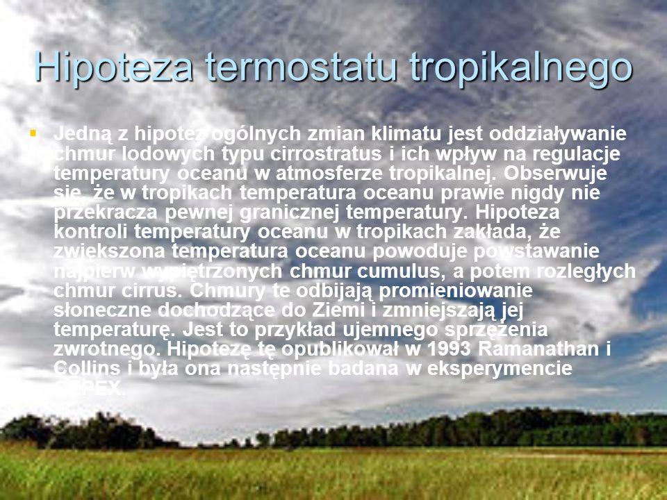 Hipoteza termostatu tropikalnego