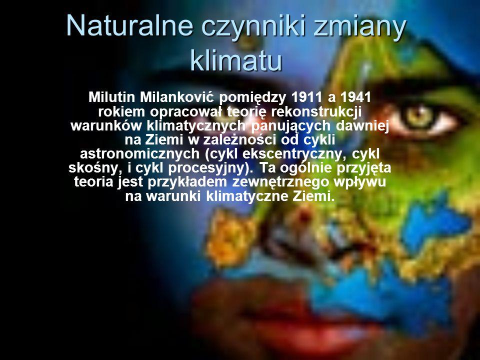 Naturalne czynniki zmiany klimatu